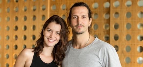 Nathalia Dill e Vladimir Brichta