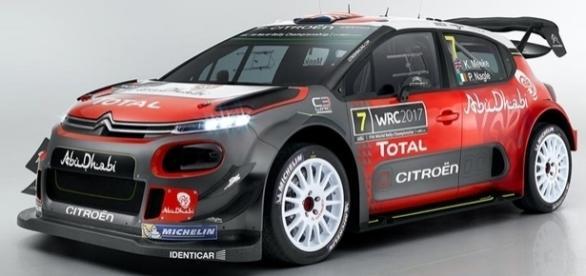 Pacote aerodinâmico deixa Citroën C3 WRC 2017 com visual agressivo