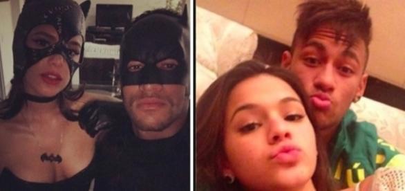 Sem censura, o casal, Bruna Marquezine e Neymar, assumem namoro publicamente com foto postada na rede social.