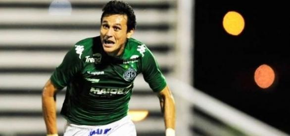 Silas Comemora Gol Guarani Juventude Serie C 01/09/2014