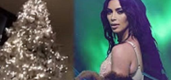 Source: Kim Kardashian Shows Off Extravagant Christmas Tree & Lights: Youtube Clever News