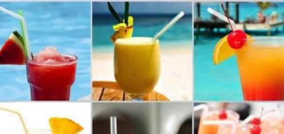 Sucos,drinks e smoothies virou febre em festas no verão.