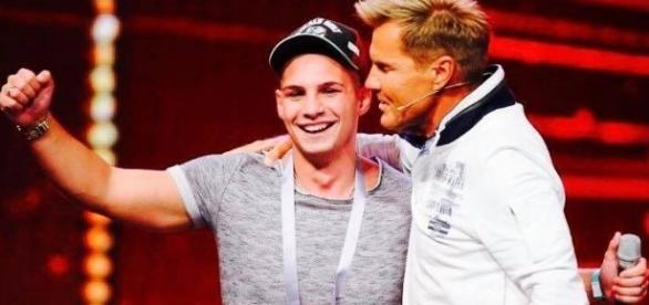 (c) RTL - Pietro beim Supertalent 2016 zu Gast
