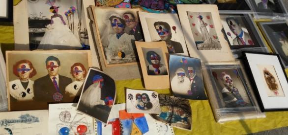 El mercado al aire libre le da un giro al uso de las fotos del Siglo XX.