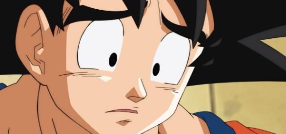 Goku deprimido Toei Animation 2016