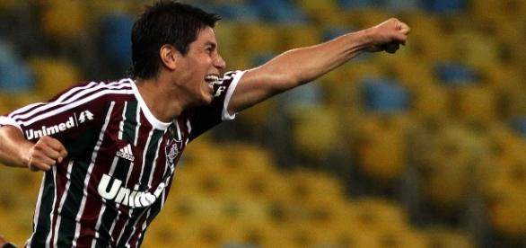 Ídolo da torcida, Conca não deve atuar pelo Fluminense em 2017 (Foto: Arquivo)