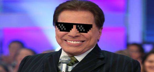 Imagem do apresentador carregada por balão invadiu o vídeo antes de ser cortada pela emissora