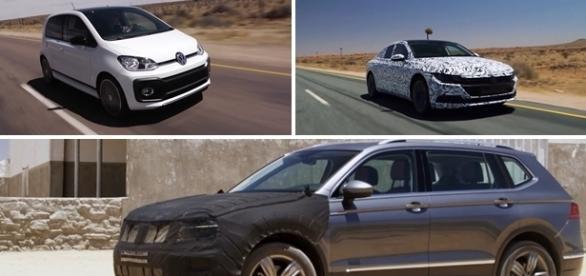 Novos modelos da Volkswagen serão lançados nos próximos meses