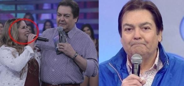 O apresentador teria feito uma piada sobre a cantora (Foto Reprodução TV Globo)