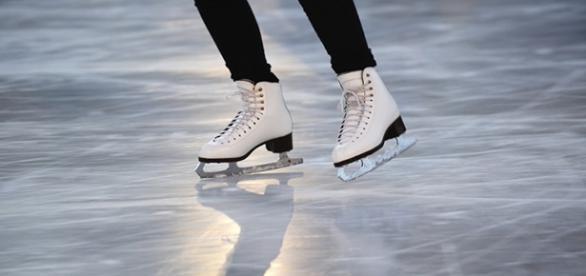 Piste di pattinaggio sul ghiaccio a Roma