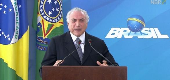 Presidente Temer anuncia liberação de saque FGTS