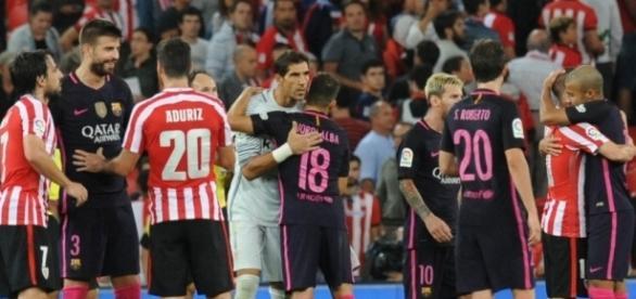 Último enfrentamiento entre Barça y Athletic en liga.