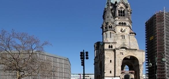 Berlin: Kościół Pamięci Cesarza Wilhelma. Date, 19 March 2015 Aut.: Anagoria, GFDL