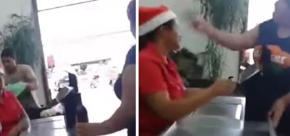 Confusão aconteceu dentro de um supermercado em Goiás