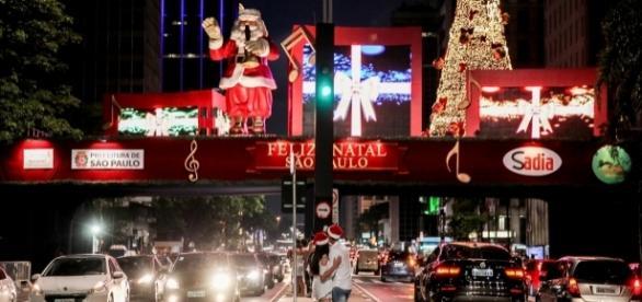 Crise afeta decoração de natal da Avenida Paulista (Foto: Divulgação)
