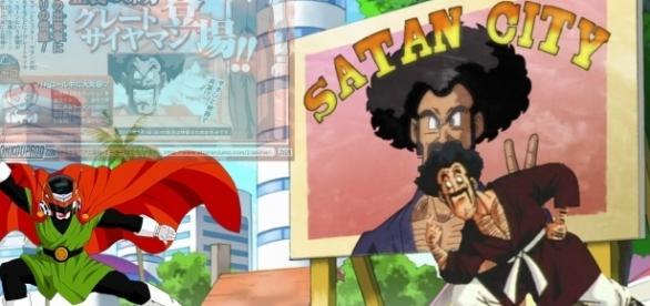 el gran combate Saiyaman vs Mr. Satan