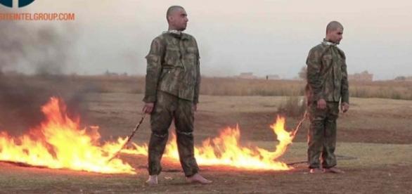 Homens são queimados vivos antes do natal - Imagem/G1