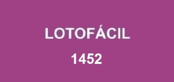 Prêmio de R$ 1,7 milhão sorteado no resultado 1452 da Lotofácil