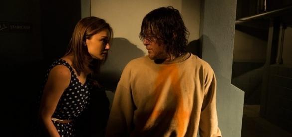 The Walking Dead: explications sur ce que Sherry voit en Daryl
