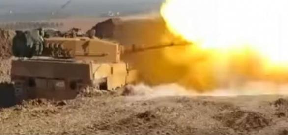 Turcia a atacat orașul din Siria al-Bab și au ucis peste 1000 de militanți ISIS - Foto: captură YouTube