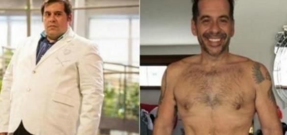 Cinco famosos que perderam muito peso - Google