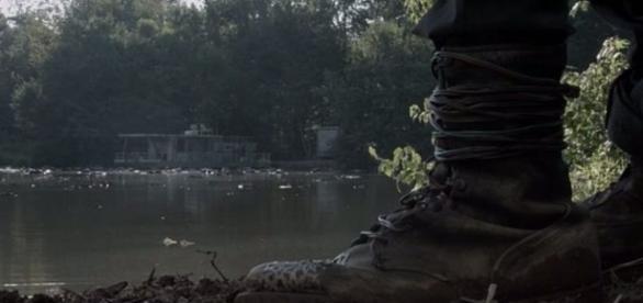 Espião de Rick e Aaron no último episódio de The Walking Dead