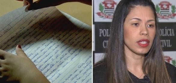 """Estudante revela em carta para """"Papai Noel"""", que sofria abusos do padrasto."""