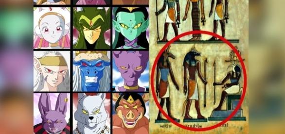 Fan art de los dioses de la destrucción realizado por 'Salvamakoto'