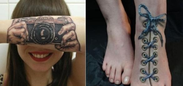 As tatuagens com técnicas 3D se tornam ainda mais reais