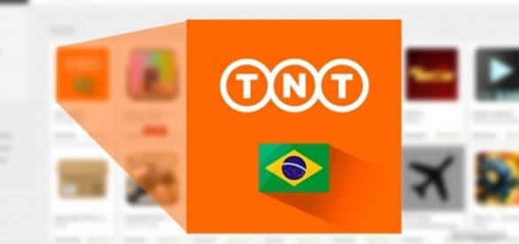 """Disponível para as principais plataformas, procure na sua loja de app como """"TNT Radar"""""""