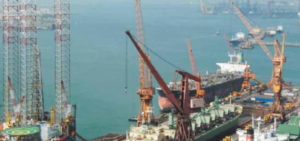 Estaleiro Jurong Aracruz irá montar o equipamentos no casco da P-68