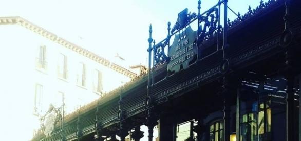 Museo del Jamón en Madrid. Mitzi Vera
