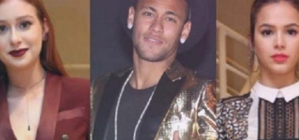 Neymar tentou namorar Marina Ruy Barbosa antes de relacionamento com Bruna Marquezini