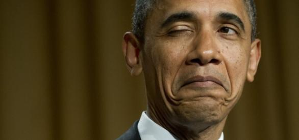 Obama says he's sure he could get a third term if he were allowed to run again. BN library and makemefeed.com