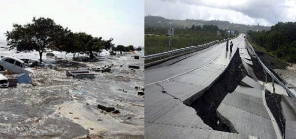Terremoto atinge o Chile - Imagem/Google