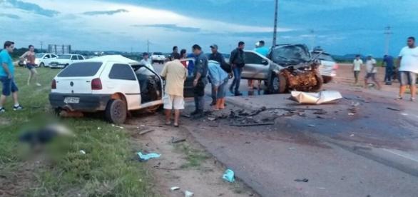 Família morre em trágico acidente