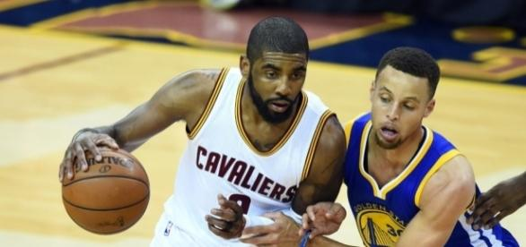 Kyrie Irving and Stephen Curry - USA Today Sports - usatoday.com