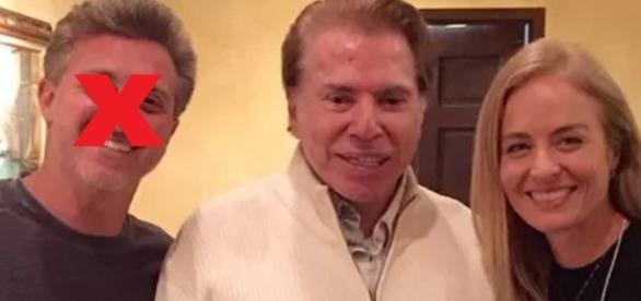 Luciano Huck e Silvio Santos - Google