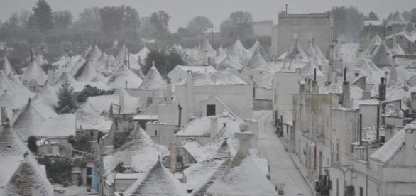 Previste nevicate in Puglia per il giorno dell'Epifania