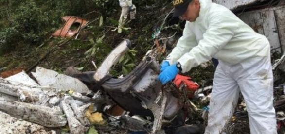 Queda do avião da Chapecoense deixou dezenas de mortos