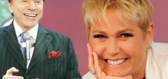 Silvio Santos e Xuxa Meneghel - Google