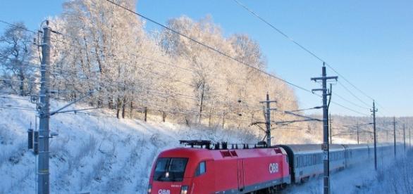 Bedrohungen in Zügen der ÖBB geschahen an Weihnachten. (Fotoverantw./URG Suisse: Blasting.News)