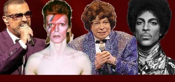 George Michael, David Bowie, Cauby e Prince foram alguns dos que partiram em 2016
