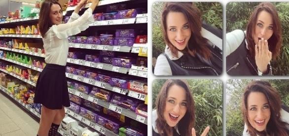 Madeline Willers liebt Schokolade / Fotos: Madeline Willers Facebook & M.W. Records