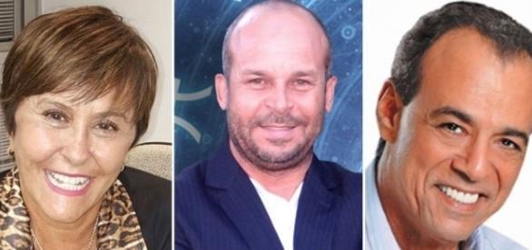 Os três são nacionalmente conhecidos por previsões polêmicas