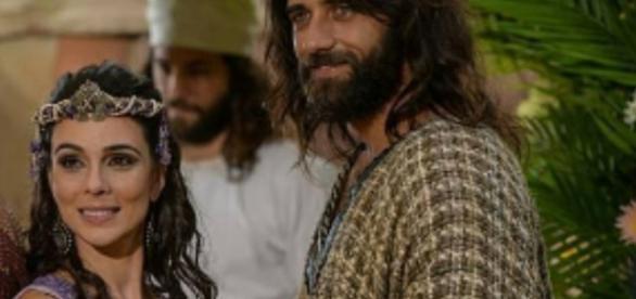 Após o casamento com Salmon, Raabe terá um filho chamado Boaz