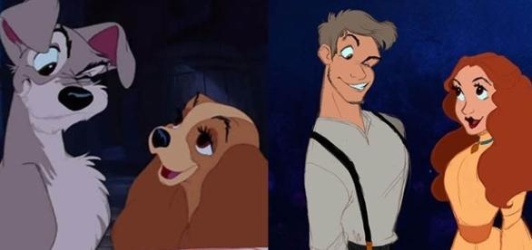 Como ficariam alguns personagens da Disney com traços mais humanos
