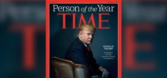 Donald Trump, Time's Person of the Year/Photo via cnn.com