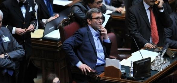 L'ex candidato sindaco di Roma, Roberto Giachetti