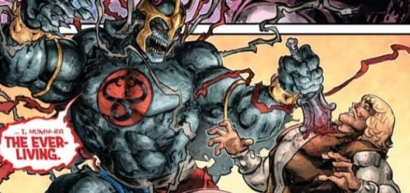 Na história, Mumm-Ra se disfarça de aliado para derrotar o herói